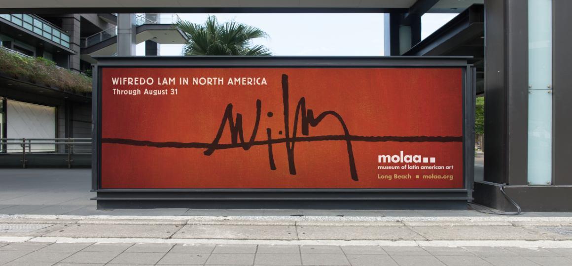 MOLAA Outdoor billboard